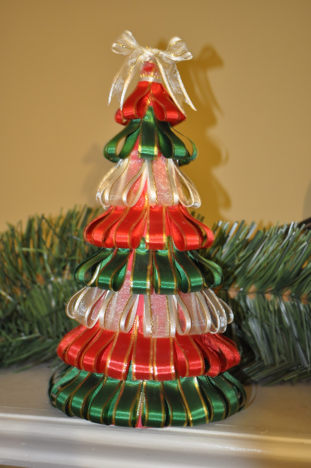 The Crafty Crystal: 12 Days of Christmas Crafts #5: Ribbon ...