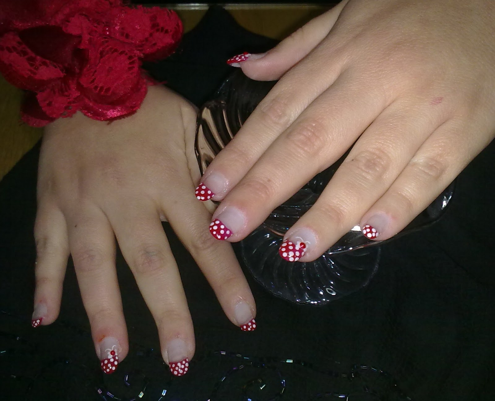 Bb Cream Korean Valentine S Day Formal Gel Nails
