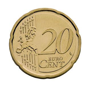 Resultado de imagem para moedas de 20 centimos