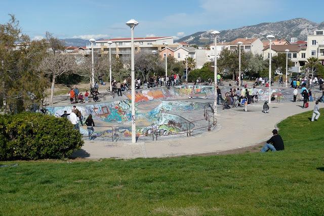 il etait une fois un skkate park au prado Skate_Park