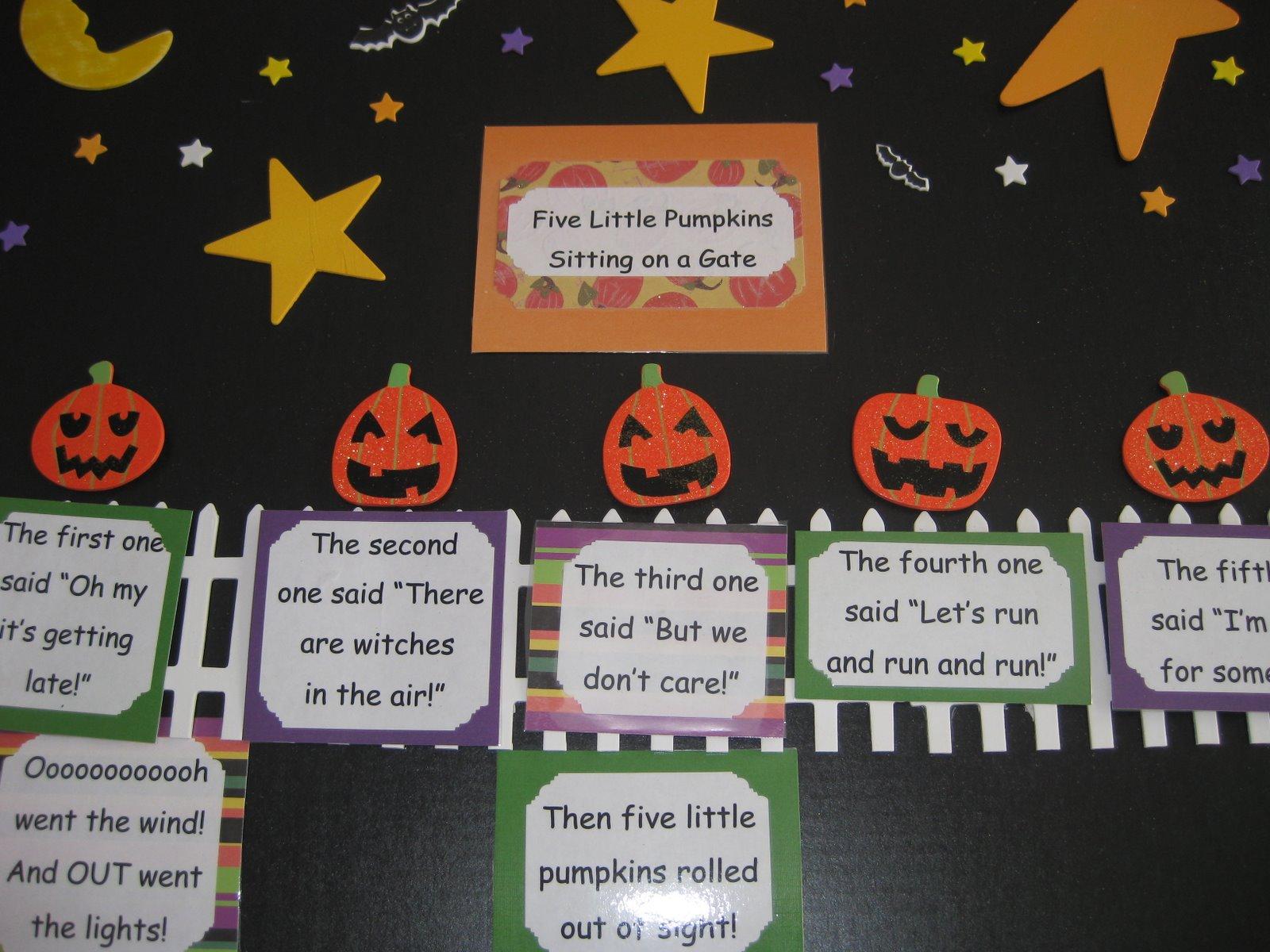 The Alphabet Garden Five Little Pumpkins