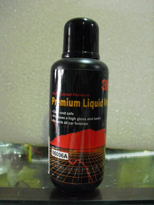3M Authorized Distributors: 3M 6006A (Premium Liquid Wax)