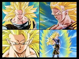 Las transformaciones de Goku Goku+ssj3