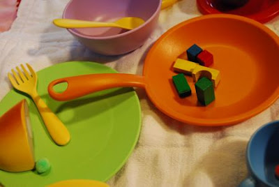 Recycled play dishes by green toys z recommends the company also makes a cute play tea set for 25 a 20 set of sandbox toys and an indoor gardening kit for 30 workwithnaturefo