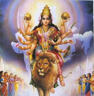 Image of Goddess Durga Ma