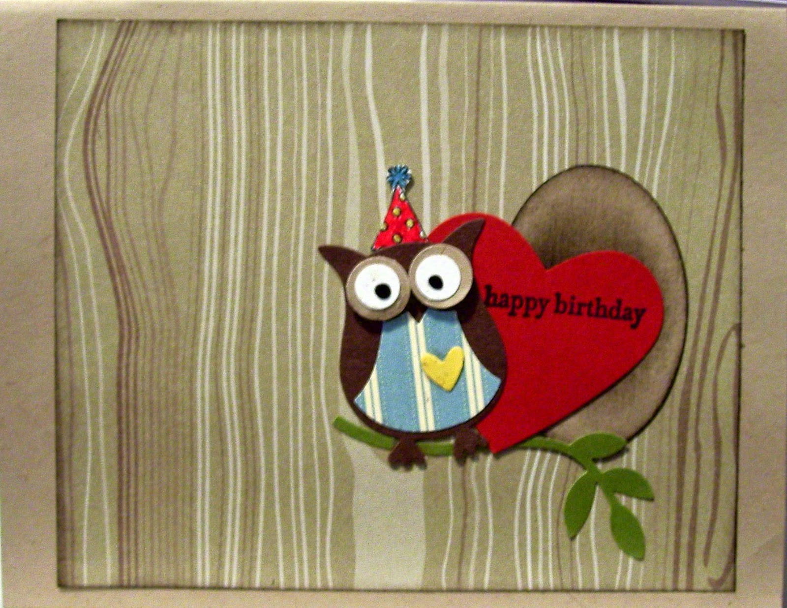 Pop Up Valentine Happy Birthday Card