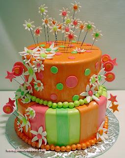 ببین چه کیک تولد خوشگلی برات پیدا کردم :)
