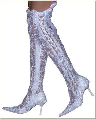 Çizmeler (dantelli)