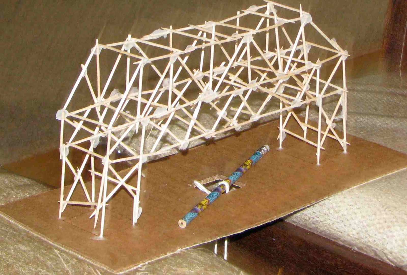 build an important toothpick bridge