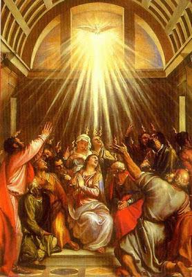 Bonne fête de la Pentecôte à tous  et toutes Pentecost