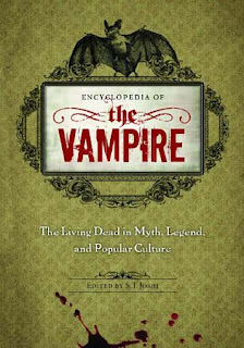 Encyclopedia of the Vampire. The Living Dead in Myth, Legend, and Popular Culture, 2010, copertina