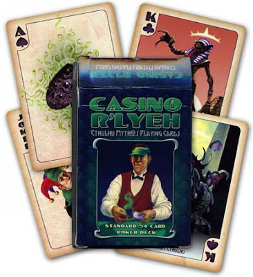 Casino R'lyeh Cthulhu Mythos Poker Cards, 2010