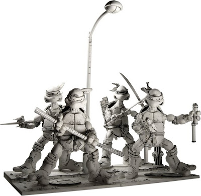TMNT- Black and White and Read All Over