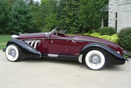 Hot Classic Cars: 1935 Auburn 851 Speedster
