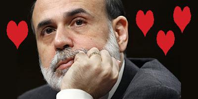Bernanke in Love Forex Stocks