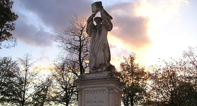 Statue of William Farel, Genevan Reformer