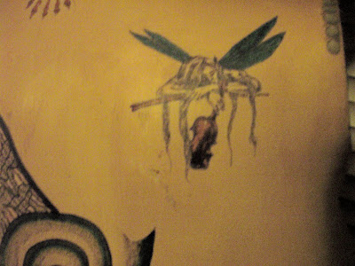 Mermaid, dragonfly & fairie tattoo's just fascinate me.