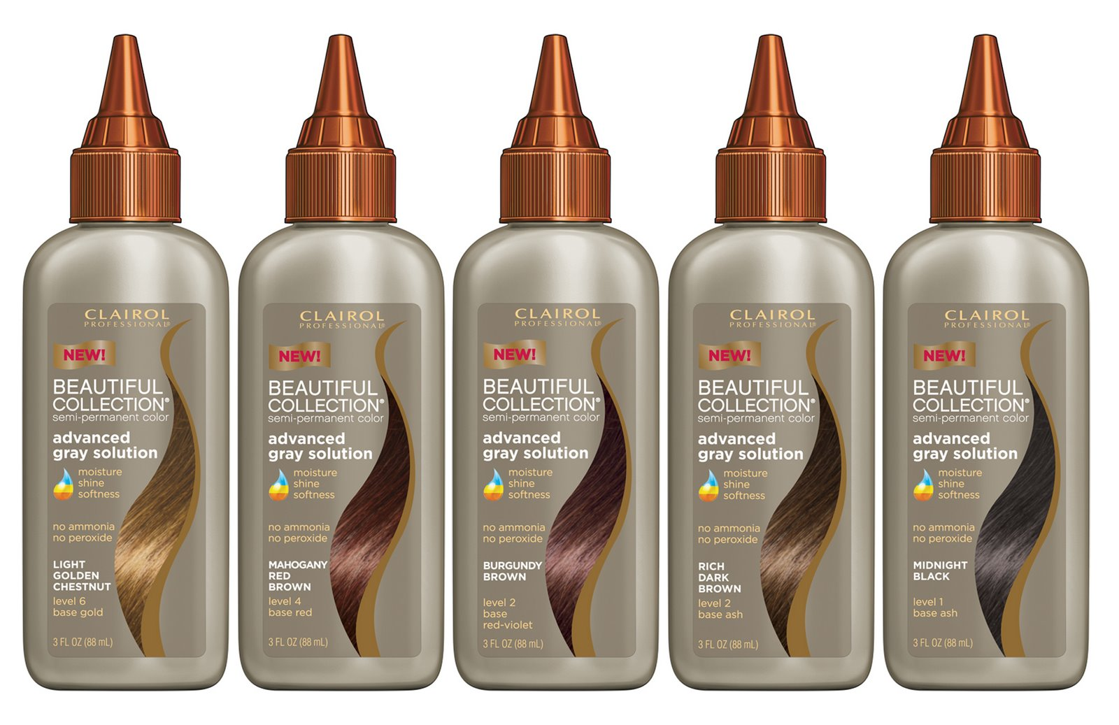 Clairol Professional Semi Permanent Hair Color Directions ...