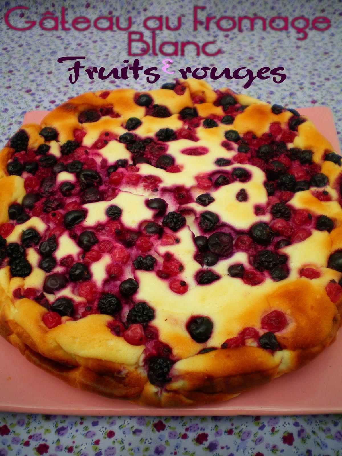 Recette Cake Aux Fruits Rouges Light