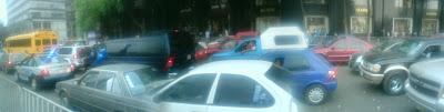 avenida juarez caos vial