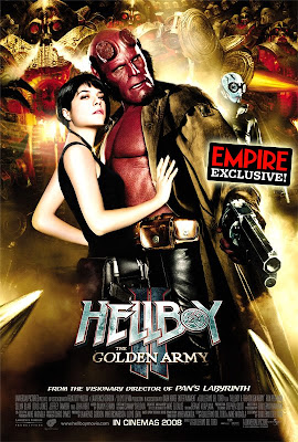 Empire's hellboy 2 exclusive poster