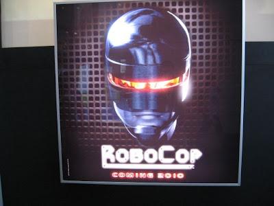 Robocop remake teaser poster
