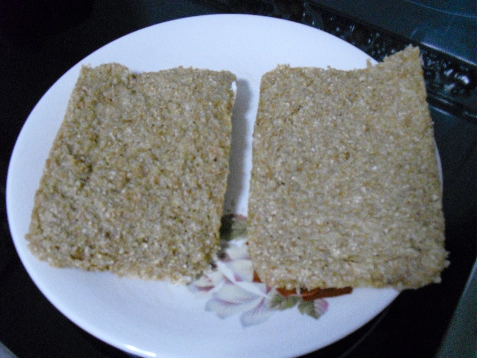 hacer pan dukan en el microondas