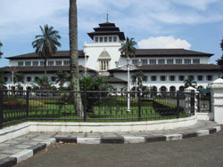 West Java Indonesia Bandung Government Building Gedung Sate