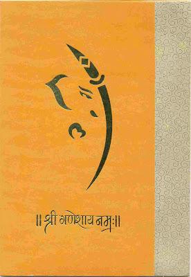 Ravindra Weds Rashi Wedding Card Front Page