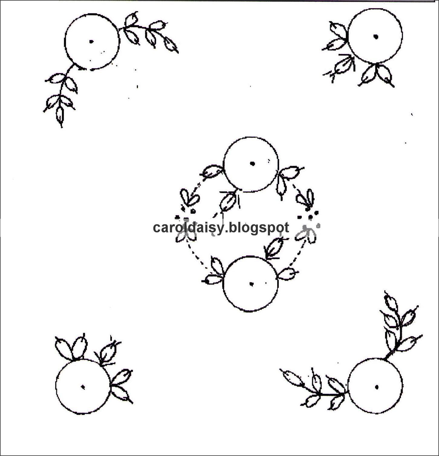Silk Ribbon Embroidery Free Sre Design