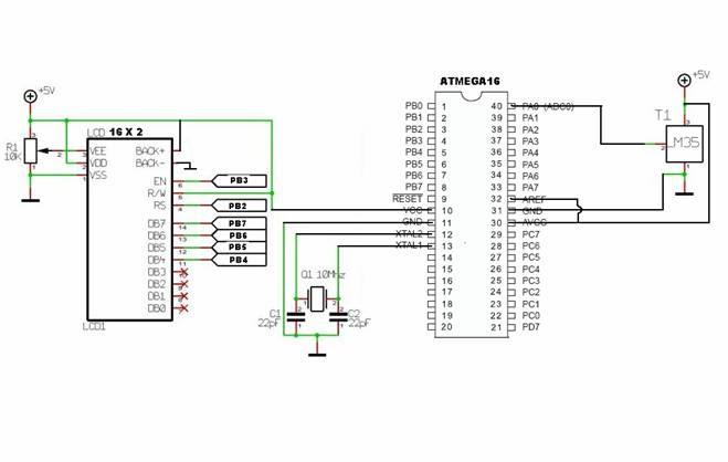 electronics  u0026 communication projects  digital thermometer