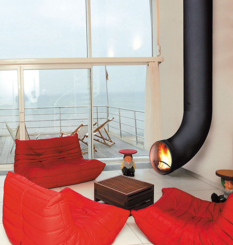 Uniques Design Interior Fireplaces By Focus