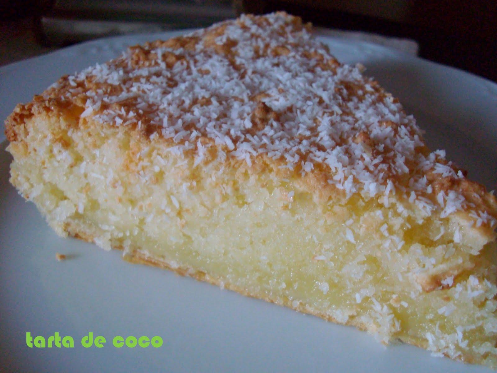 Dia De La Gracias >> de sucre i sal: tarta de coco