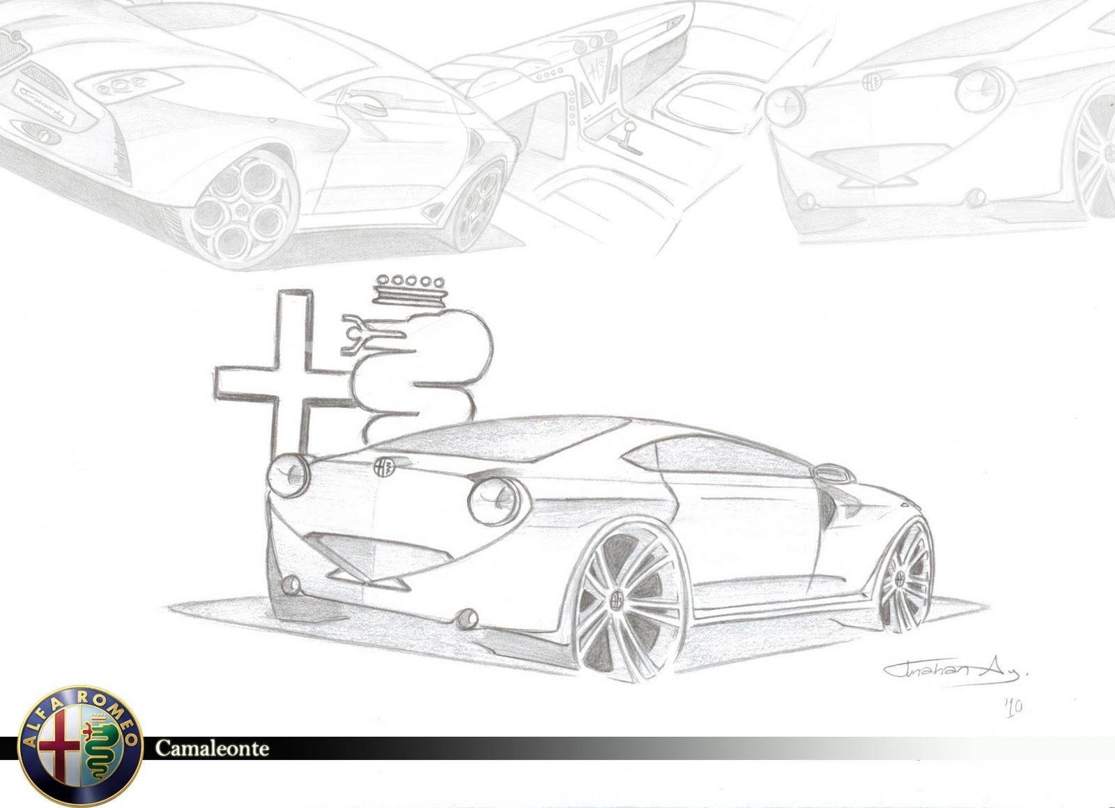 Tunahan Ay Design Blog: Alfa Romeo Camaleonte