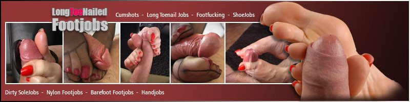 Footjobs Long Toenails