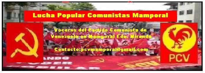 Lucha Popular Comunistas Mamporal