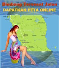 Dapatkan peta Malaysia