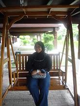 Gmbr Sally kat bwh Istana Melaka...