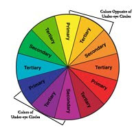 So To Cancel Out The Bluish Purple Tones You Must Use Colors Opposite Color Wheel Those Would Be Your Yellow Orange