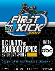 first kick Will MLS First Kick on ABC feature Eric Wynalda?