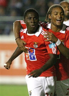 ADU+goal Adu Opens Benfica Account