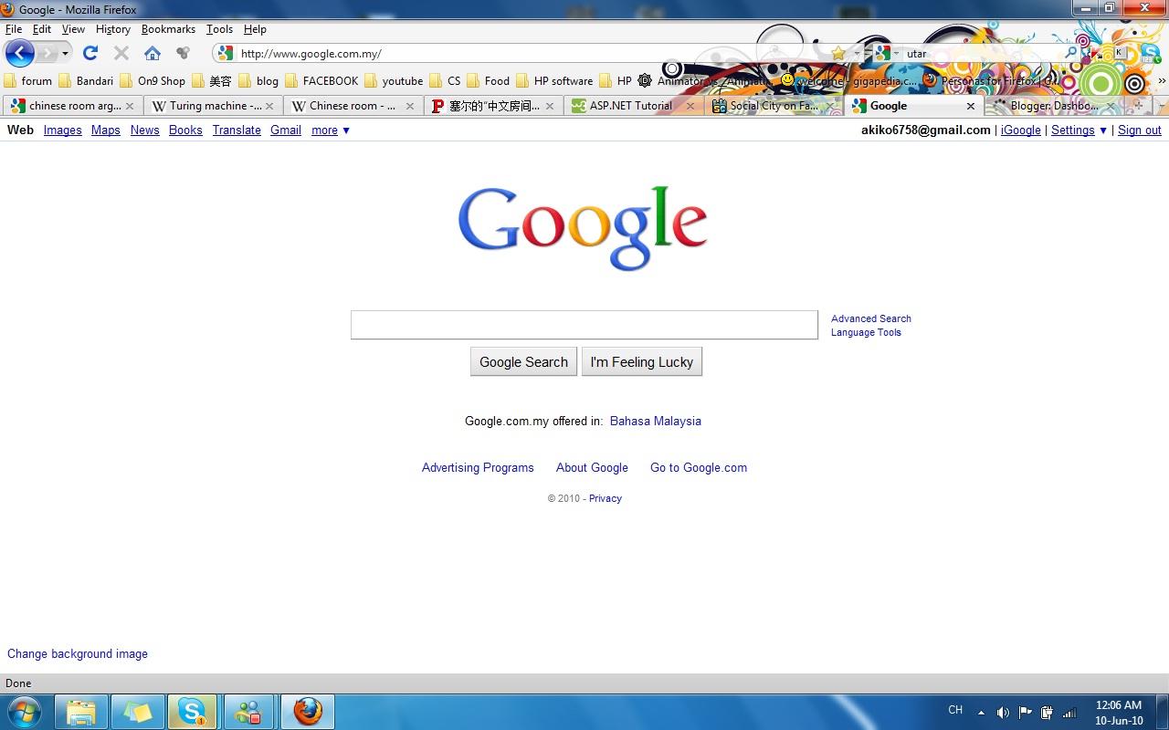 a story of ToMaTo Google Background