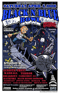 Gorilla Biscuits and CIV added to Black N Blue Bowl, Studio B