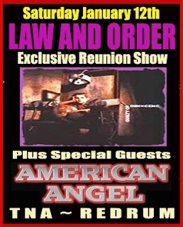 Law and Order Plays Rare Reunion Show with guests American Angel