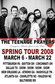 The Teenage Prayers Ready Second CD for Release March 18th