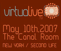 virtualive.tv concert @ Canal Room