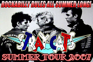 Stray Cats Reunite for Summer '07 Tour