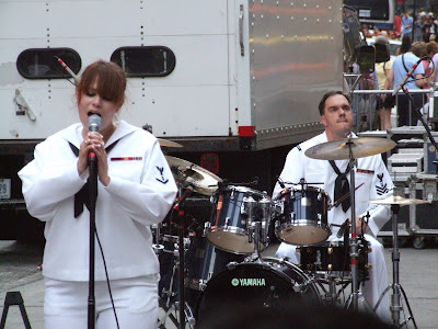 Navy Band in Times Square, May 27, 2007