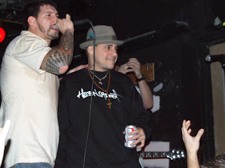 Vinny and Freddie Madball @ Knitting Factory 2006