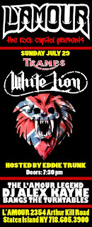 Tramps White Lion Playing L'Amour on July 29th